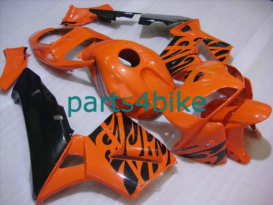 Bodykit arancio bruciato carene Honda CBR600RR 2003 2006 Kit carene Parts4bike CBR 600RR 03 04 CBR 600 RR VVYP