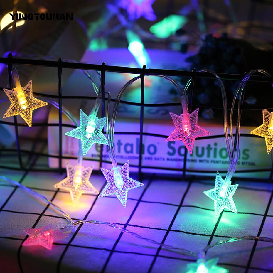 Outdoor Fairy Lights Battery Wholesale yingtouman star type outdoor string lights patio 20 led wholesale yingtouman star type outdoor string lights patio 20 led garden light battery fairy light christmas garland party decoration micro string lights workwithnaturefo