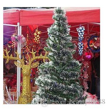 2M عيد الميلاد الروطان قلادة الأخضر العشب الأبيض شجرة عيد الميلاد الديكور