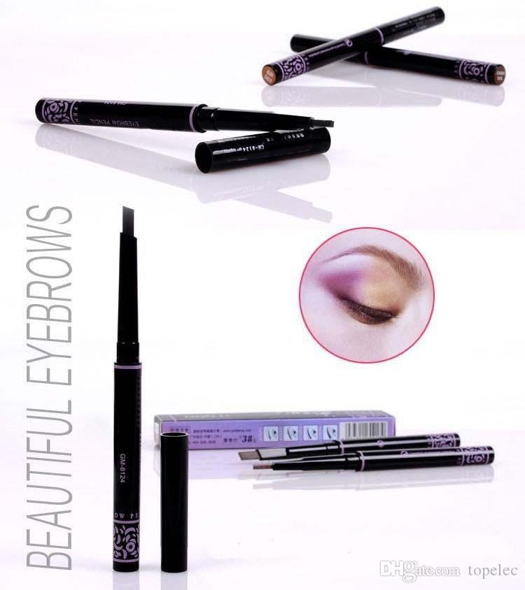 VIP Seller Automatische Augenbrauenstift Make-up 5 Stil Farbe für Augenbrauen Pinsel Kosmetik Augenbrauen Eyeliner Werkzeuge Augenbrauenstift Augenbrauenverstärker
