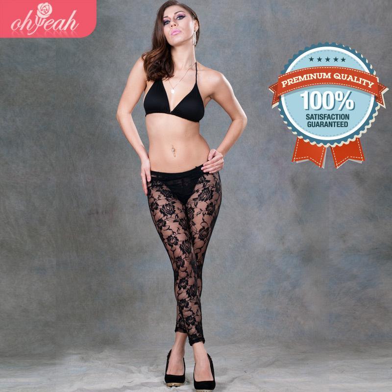 Best High Quality Legging Pants Jegging Size Xl Big Lace Legging ...