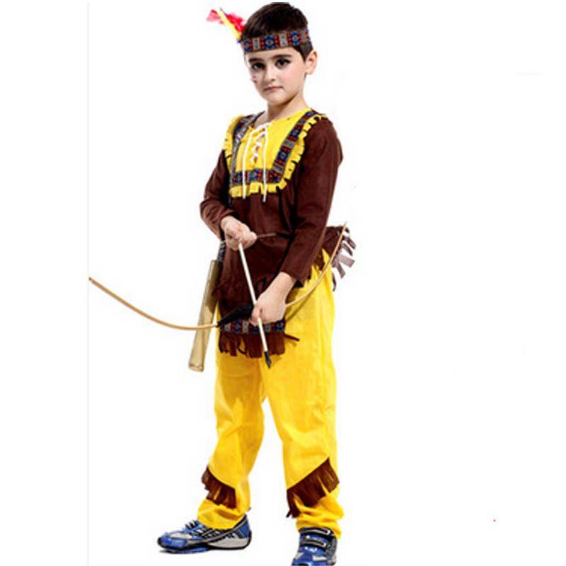 Native American Costume Wild West Child Boys Girls Indian ...