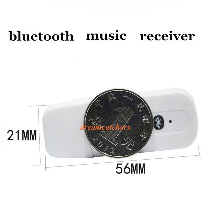 Universal 3,5 mm Stereo Audio USB Wireless Bluetooth Musik-Empfänger-Adapter für iPhone 7 plus für Samsung S7 Edge Android-Handy