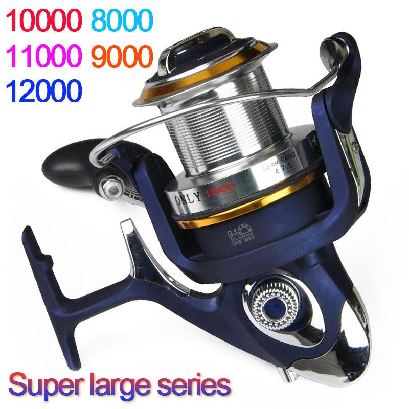 High Quality Saltwater 8000 12000 Series 9 1bb Spinning Fishing