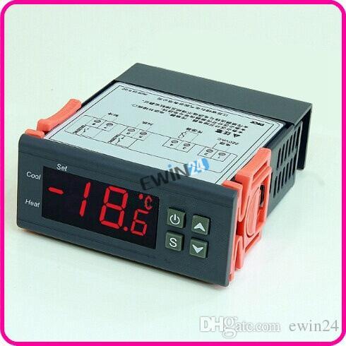 Новый и высокое качество многофункциональный цифровой термостат регулятор температуры 220 В для аквариумных рыб танк лабораторий