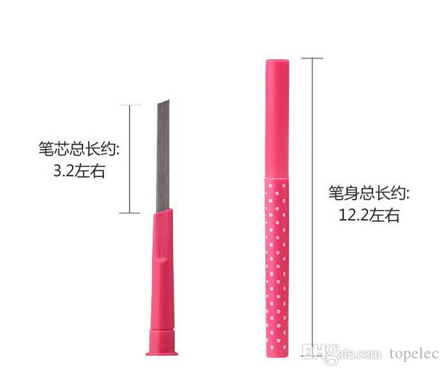 New 2015 Waterproof Dark Brown Eyebrow Pencil Eye Brow Liner Powder Shaper Makeup Tool fedex