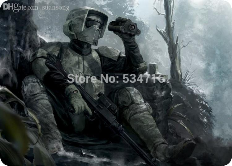 Wholesale Star Wars Mouse Pad Scout Trooper Pad Mouse