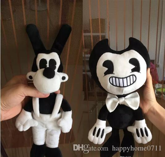 high quality Large Size Bendy and the ink machine Bendy and Boris Plush Doll Toys 50CM for Chidlren Christmas Gift