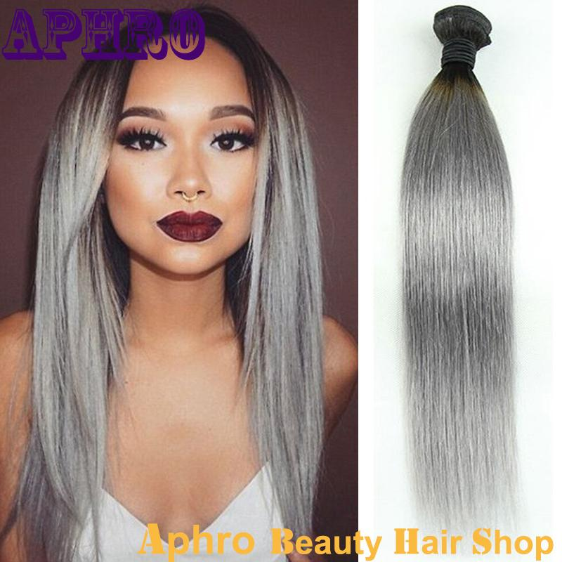 Cheap original human hair weave online cheap original human hair cheap stock original brazilian gray human hair ombre silky straight hair extensions 100g bundle gray hair wefts bundles weaves for wholesale pmusecretfo Image collections