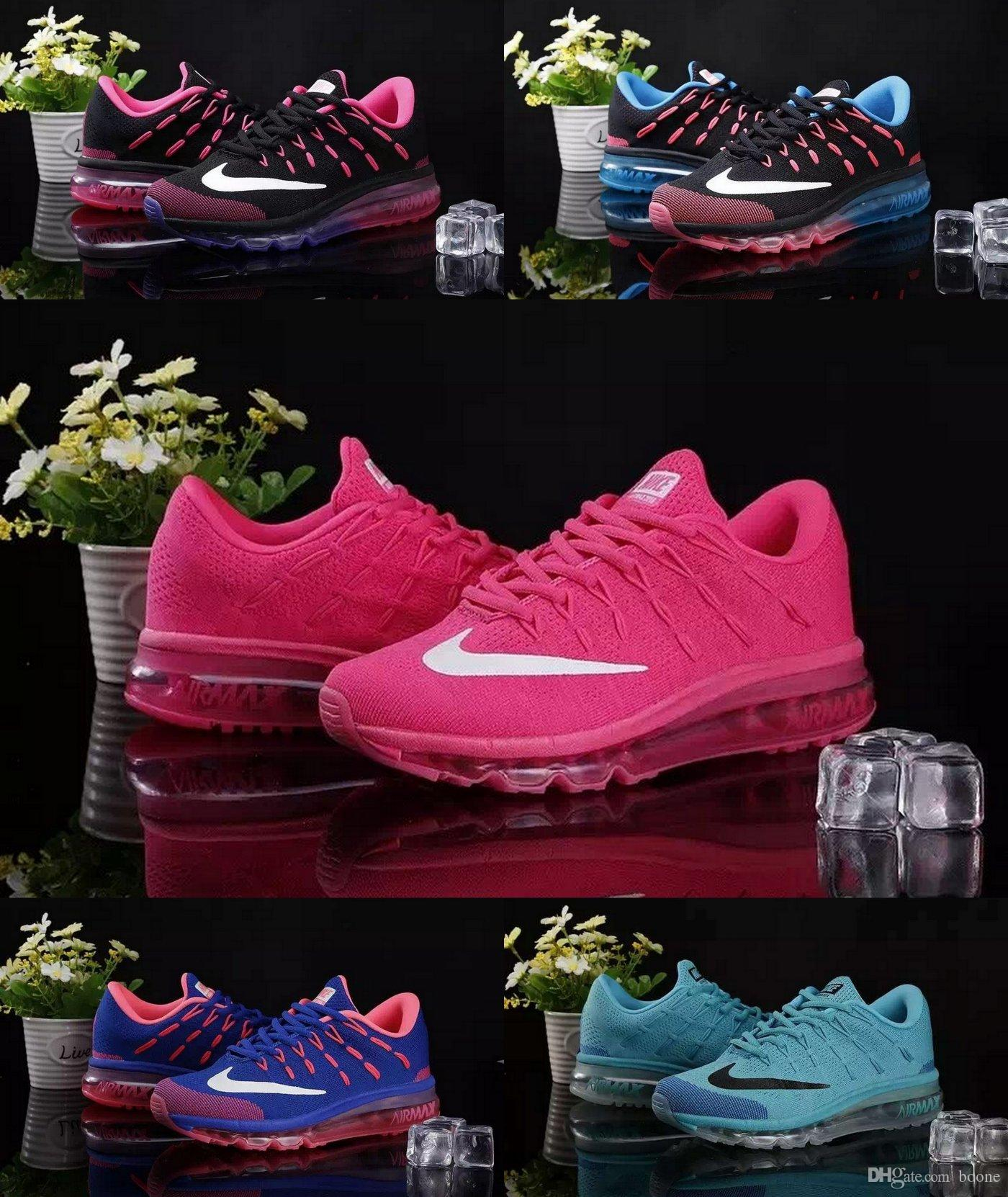various colors 1976a bddcd Nike Women S FLYKNIT Air Max 2016 Running Shoes 100% Original Mens Running  Shoes Cheap FLYKNIT Air Max 2016 Best Tennis Jogging Shoes Running Clothes  Sports ...