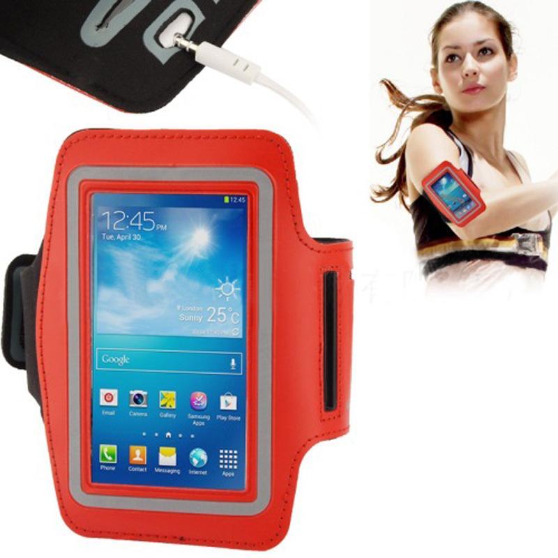 Commercio all'ingrosso della cassa della cassa del nylon della borsa da corsa del sacchetto di sport del braccialetto impermeabile il iphone 6 più borsa della fascia del braccio di Samsung Galaxy S5 S4 S3
