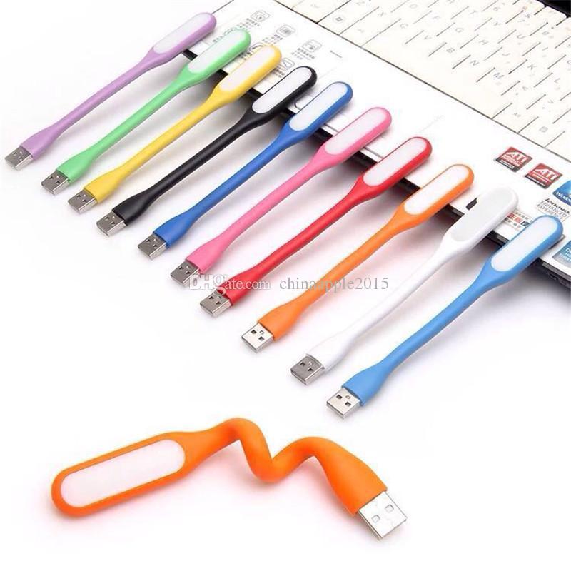 USB светодиодные лампы светодиодные портативный гибкий Xiaomi USB свет для ноутбука ноутбук Tablet Power Bank с розничной упаковке