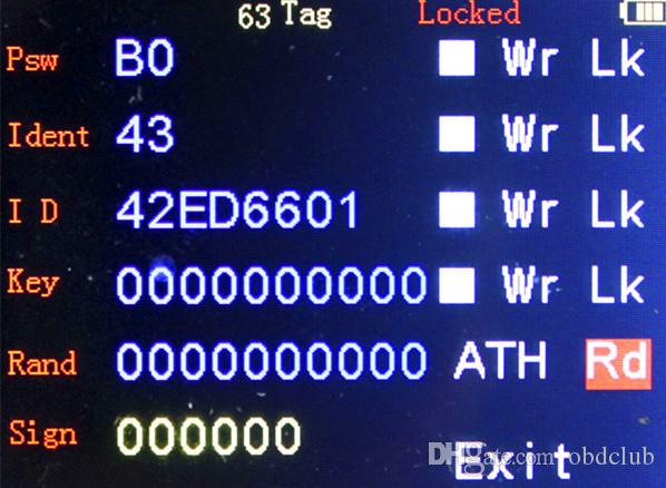 Mejor Calidad Multi-Idiomas V8.8.9 Handy Baby CBAY Hand Car-Car Key Copy Transponder Key Programmer para 4D / 46/48 Chip CBAY Programador