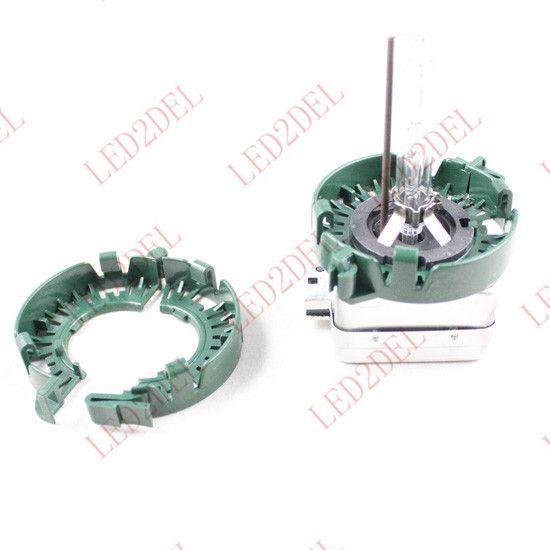 Ксенон D1S D1R d1c ксенона с D3S D3R D3CБЫЛ пластиковые зажимы стопорные кольца для BMW и Audi Бенц, кадиллак и т. д. HID ксеноновая лампа держатель адаптеры проекторы Д1 Д3
