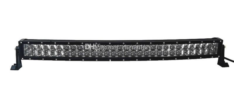 For Philips 22 inch LED Bar 120W Offroad Light Bars 12V 24V 4D 4x4 Car ATV Tractor Off road Spot Flood Curved Light Bars