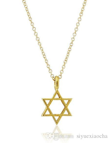 With card! Silver and gold color cute Dogeared Necklace with star pedant spiritual wisdom, no fade, and high quality.