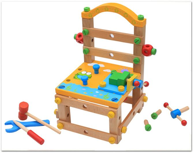 Kids Carpenter Build Your Own Wooden Chair Kids Children Pretend Play Tool  Toys Novelty Party Games Novelty Gifts Online From Motocyle, $94.86|  Dhgate.Com