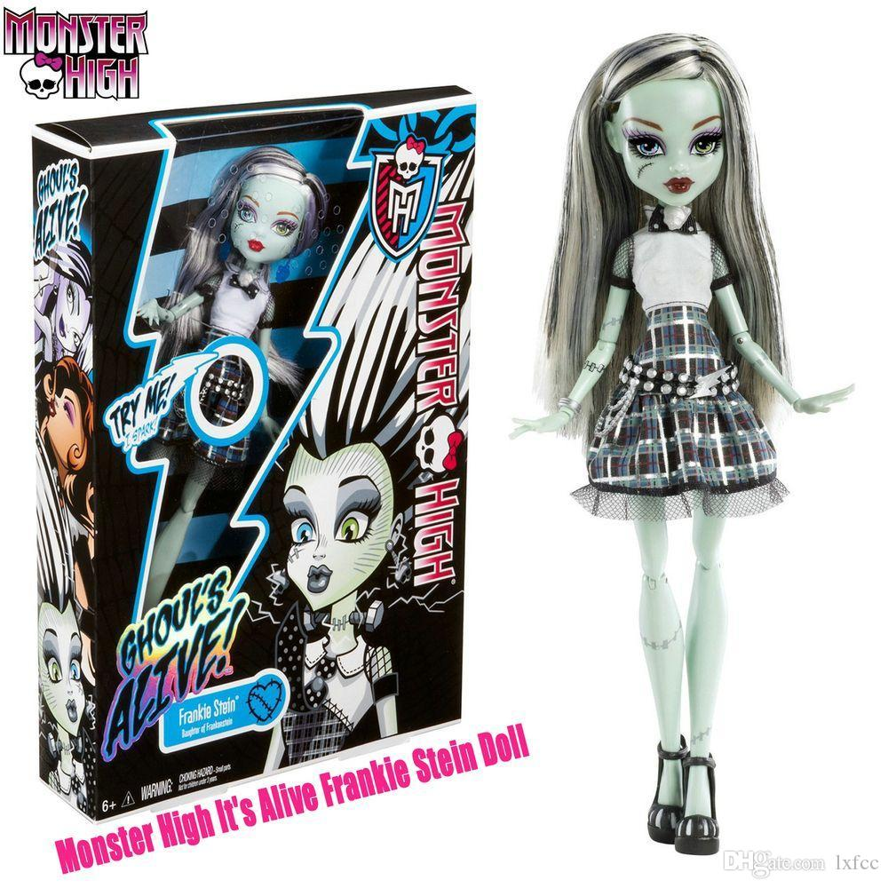 Uncategorized Frankie From Monster High original monster high dolls y0421 its alive frankie stein doll freeshipping best girft to little girl