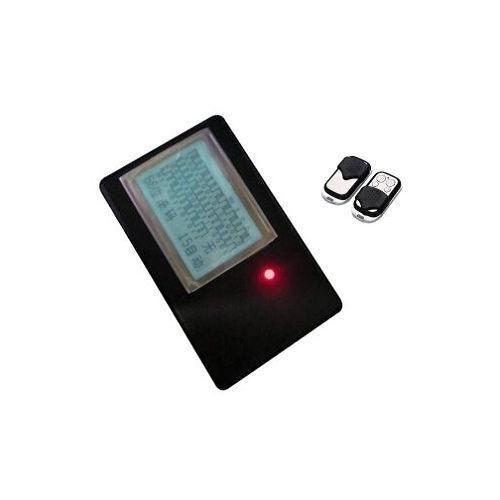 PWcar haddeleme kodu otomatik kapı açacağı uzaktan kumanda dedektörü tarayıcı çözme cihazı + A315 öz klon uzaktan kumanda anahtarı