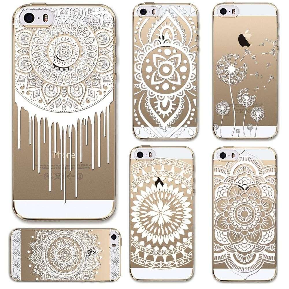 Phone Cases For Apple Iphone 5 5s Case Transparent Crystal Case