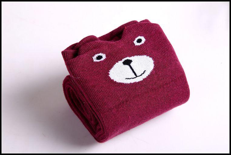 Prettybaby أطفال الجوارب طفل الحيوان نموذج الركبة عالية جوارب الثعلب الدب القط نمط القطن فضفاض الجوارب أنبوب الجوارب Pt0087 #