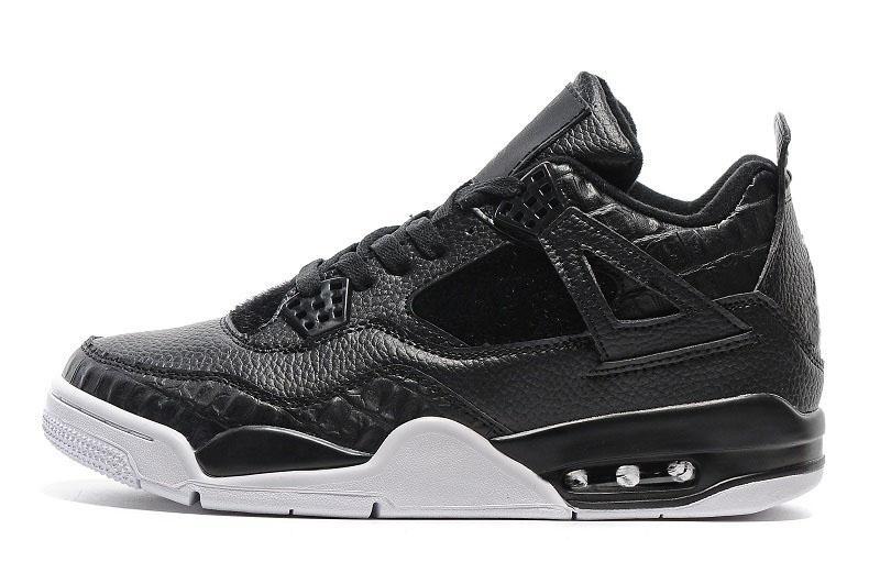Günstige 4 Herren Damen Basketballschuhe Fear Cement Oreo Black Cat Sneaker Sportschuh, Für Online Sale Größe 5.5 - 13