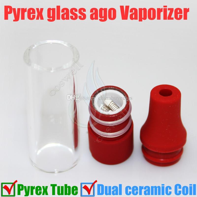 2015 vor glas tank pyrex glasrohr zerstäuber wachs trocken kraut verdampfer stift dampf e zigaretten elektronische zigarette glas zerstäuber glassomizer