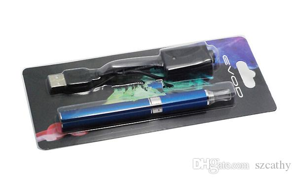 جديد EVOD MT3 نفطة عدة Evod Starter Kit مع Evod Battery Mt3 Atomizers Clearomizer قابلة للشحن 650 مللي أمبير 900 مللي أمبير 1100 مللي أمبير مزيج الألوان المتوفرة