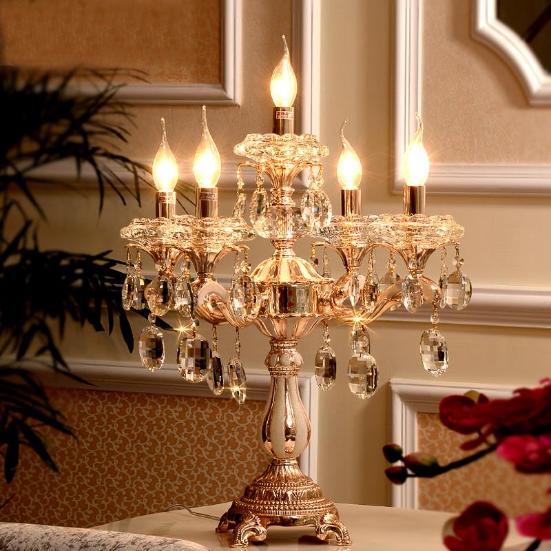 Best Led Table Lamps Modern Christmas Table Decoration Lamp Shades For Desk  Lights Candelabrum Crystal Table Lights For Bedroom Under $422.12 |  Dhgate.Com