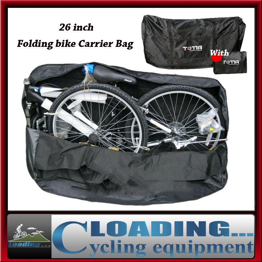 2018 New 26 Folding Bike Carrier Bag Cycling Bicycle Vehicle