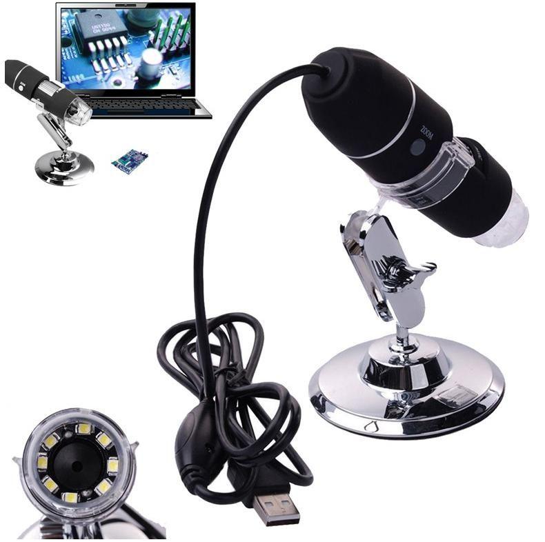 Neu Megapixel-1000X 8 LED USB Digital Mikroskopendoscope Kamera Mikroskop Lupe Z P4PM
