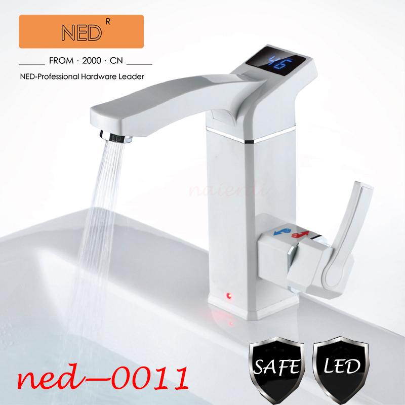 Brand NED Water Heater Kitchen Faucet Bathroom Home Electric Faucet ...