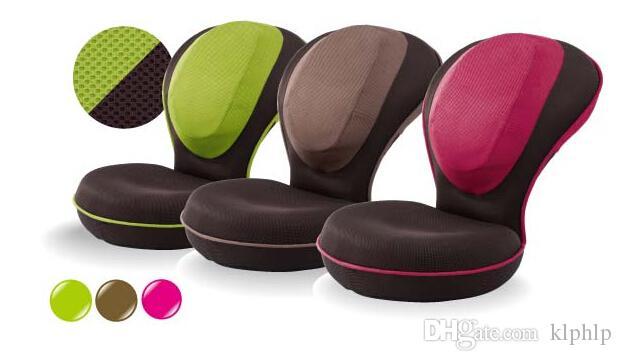 Bon 2018 Yoga Chair Posture For Living Rooom Furniture Tatami Floor Seat  Cushion Zaisu Legless Chair Folding Mesh Fabric Exercise Yoga Stretch Chair  From Klphlp ...