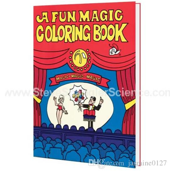 A Fun Magic Coloring Book Medium Size Trick Stage Close Up Illusions Accessories Comedy Children Gimmick Online With
