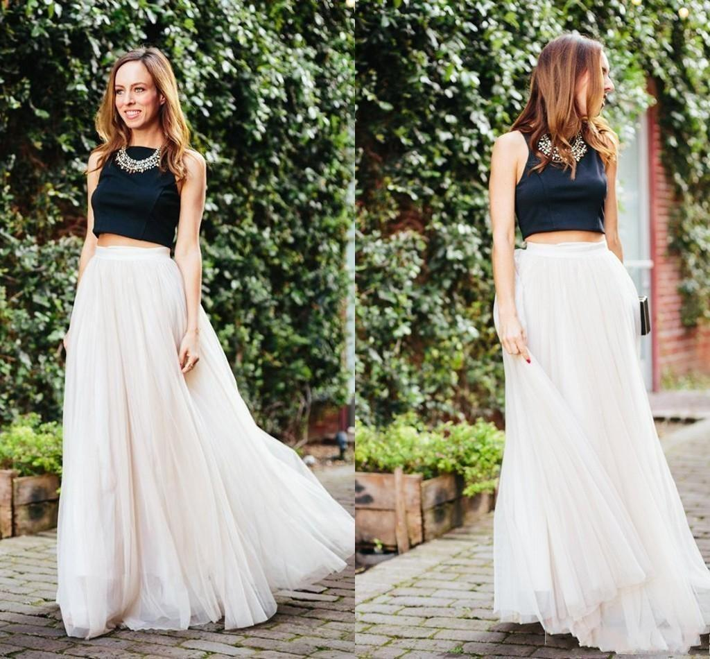Black and Ivory Two Piece Prom Dresses Cap Sleeve Cap Sleeve Wome Dress A Line satin Formal Evening Gowns2016 Design