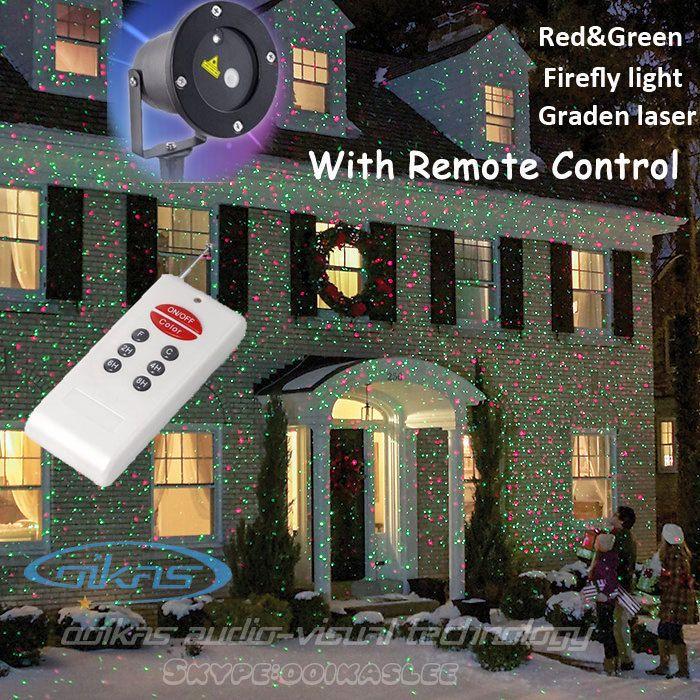 Waterproof Ip65 Outdoor Christmas Light Rg Elf Laser Projector