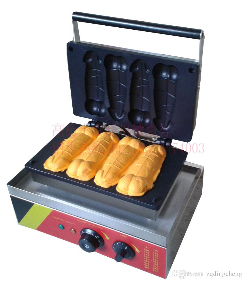 2019 Hot Sale Penis Shaped Lolly Waffle Machine From Zqdingcheng