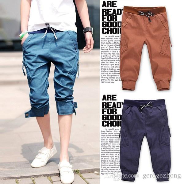 2017 2014 New Fashion Short Pants Jeans Men Slim Fit Skinny ...