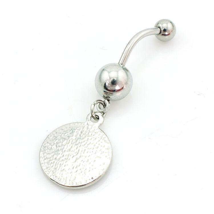 Высокое количество мода пупка кольца из нержавеющей стали 316L мотаться тай-чи пупок пирсинг украшения