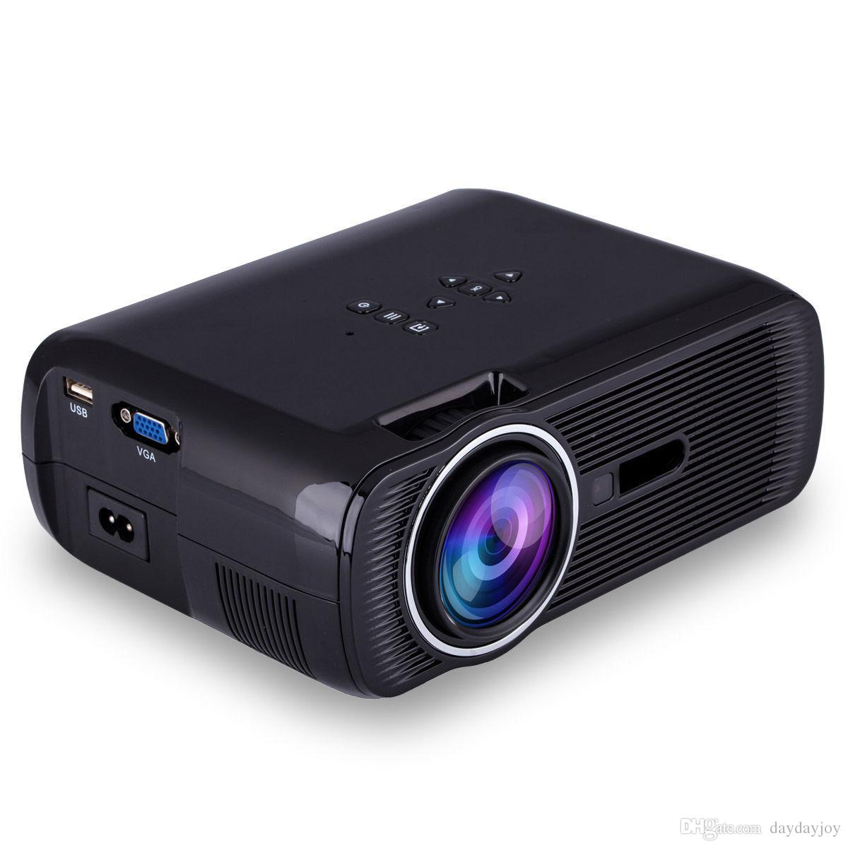 Us Stock! Bl 80 1080p Hd Mini Portable Projector Led