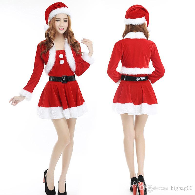 New fashion christmas santa claus sexy party