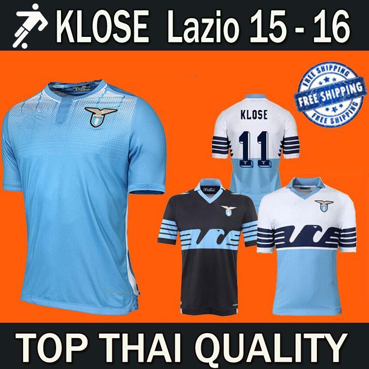 058503a10 2019 2016 New Lazio Home Away Soccer Jerseys 15 16 Lazio KLOSE CANDREVA  F.ANDERSON BASTA Football Uniform Shirt Camiseta Blue White From  Huangtiaohu, ...