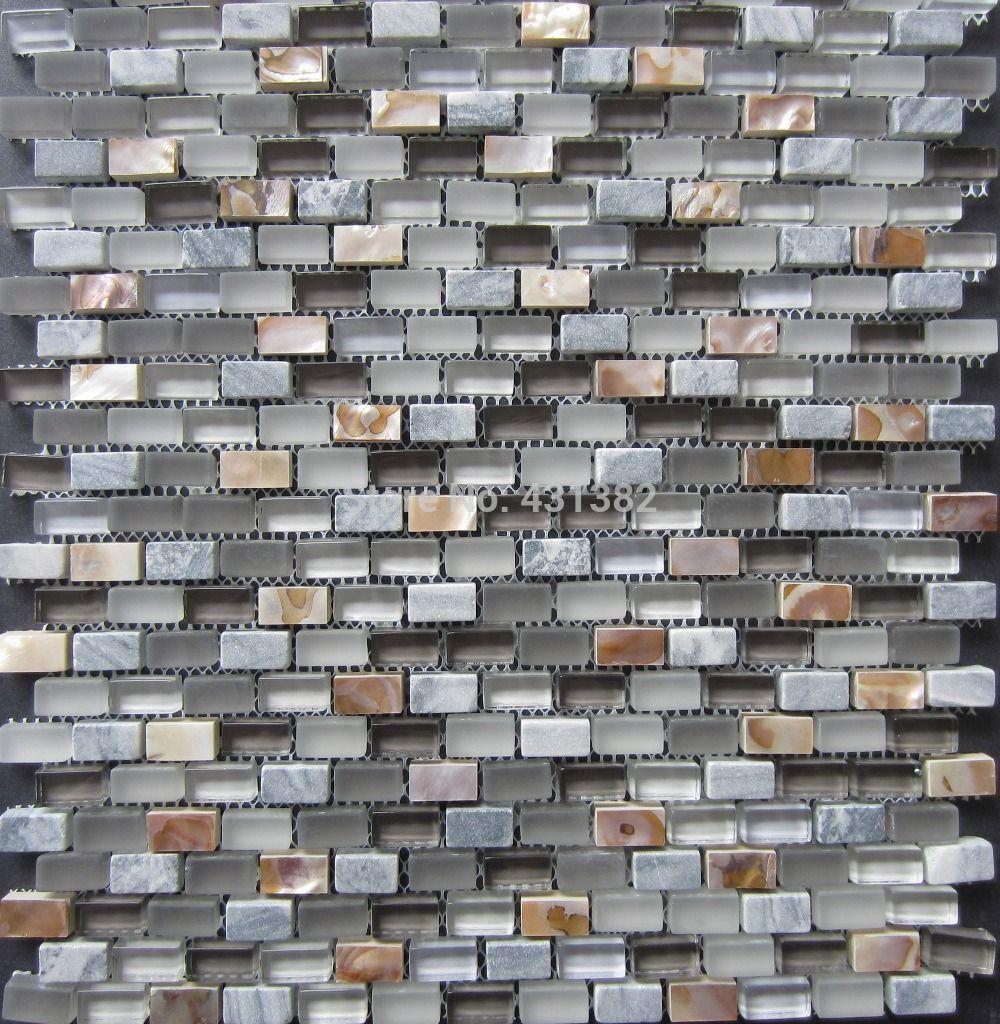 2015 glass mosaic tilesstone mosaicmixed shell mosaic tile on mesh see larger image dailygadgetfo Images