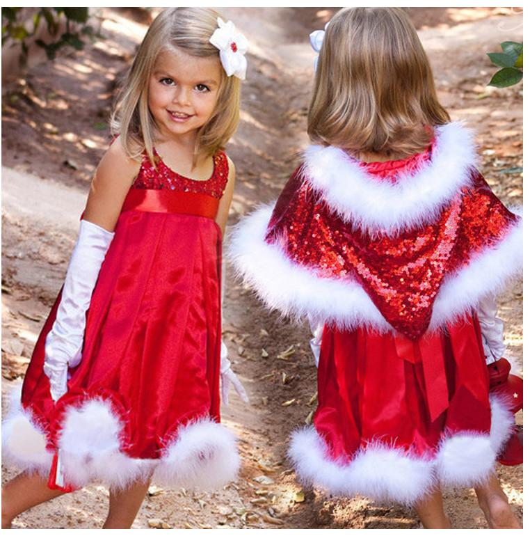 2018 Christmas Sequins Dress Ball Gown Frock 2015 Autumn Baby Girls Fashion  Elegant Princess Dresses Red Without Cape B0688 From Superable   14 08    Dhgate. 2018 Christmas Sequins Dress Ball Gown Frock 2015 Autumn Baby