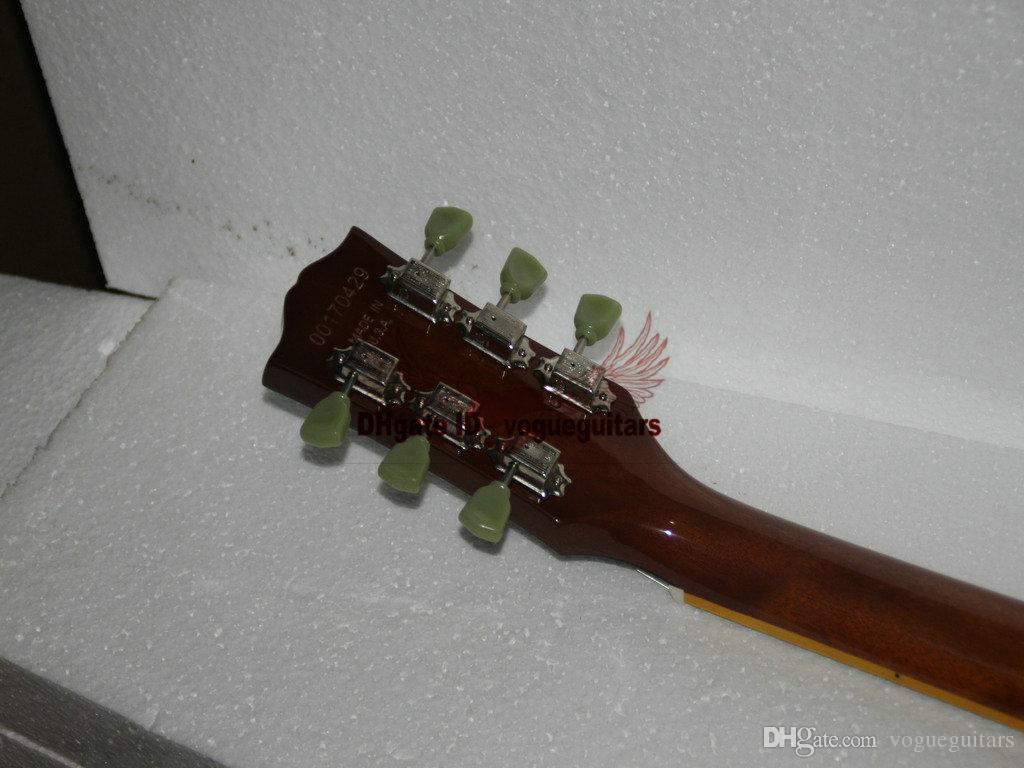 Gauche Guitare Custom Shop 335 Jazz Guitare Électrique dans Vintage Haute Pas Cher Livraison Gratuite