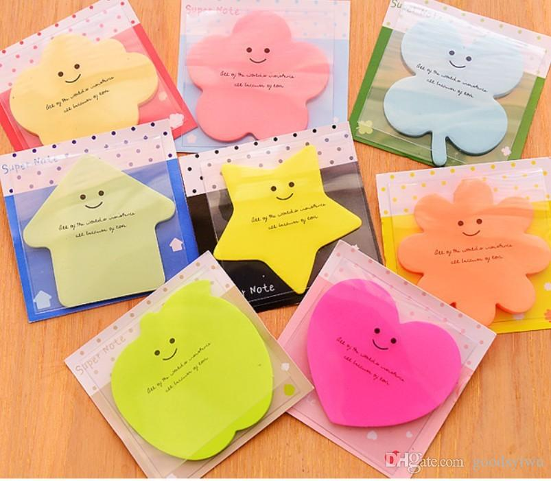2018 creative stationery notepad cute paper sticky note memo message
