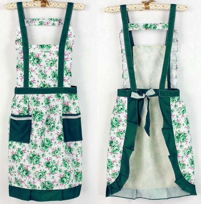 4a9669a03ed 2017 Hot Sell New Style Beautiful Bud Silk Pocket Aprons Fashion Lovely  Princess Waterproof Apron Yzs168 Dress Shoes Online with  20.77 Piece on  Yzs168 s ...