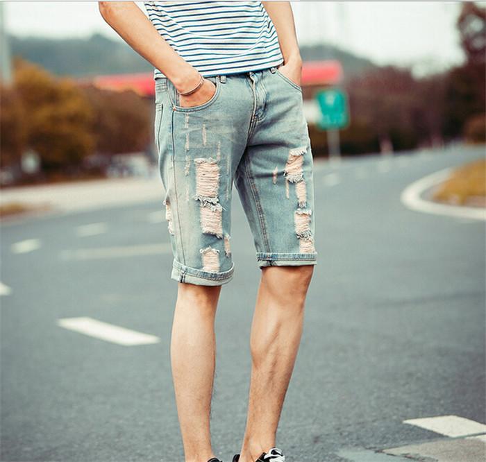 Best New Men'S Shorts Summer Cotton Washed Mens Ripped Jean Shorts Retro  Distressed Denim Shorts For Men Wholesale & Retail Q1118 Under $72.06 |  Dhgate.Com - Best New Men'S Shorts Summer Cotton Washed Mens Ripped Jean Shorts