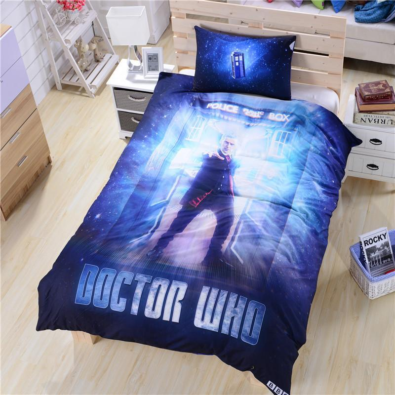 Dr Who Queen Size Bedding