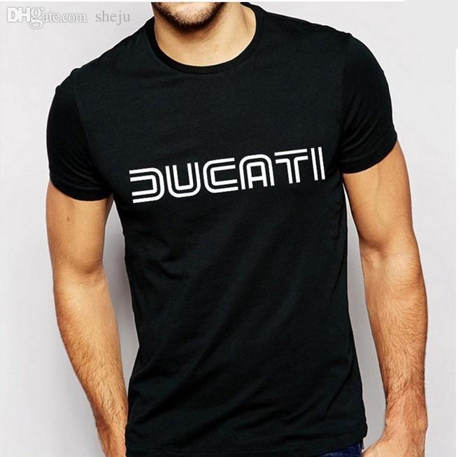 Acheter Gros Ducati T Chemises Hommes Lettre Imprimer T Shirt Coton O Cou  Man T Shirt Casual Manches Courtes Hommes Marque Moto Sport T Shirts De   31.3 Du ... ef88dfa57950